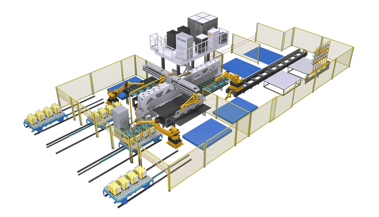 Laser Welding Automatic Production Line