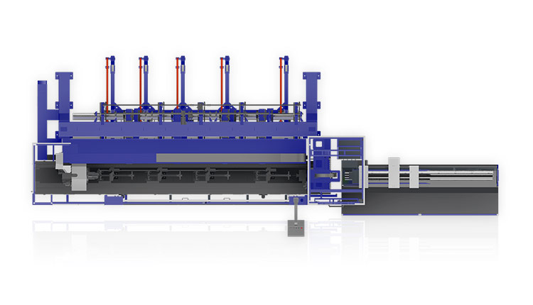 P Series Laser Pipe Cutting Machine