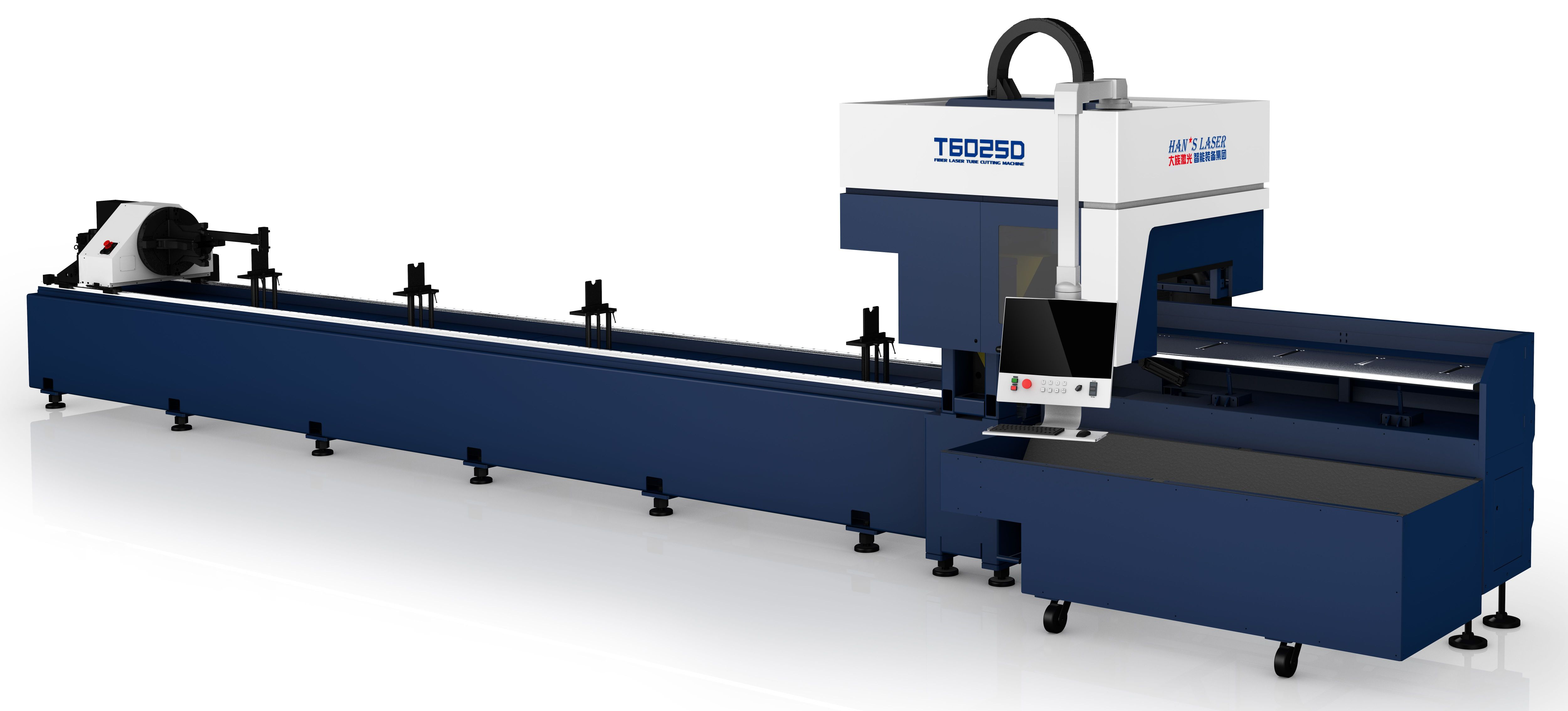 T6025D Laser Tube Cutting Machine