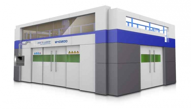 High Elevated 3D-5 Axis Laser Cutting Machine